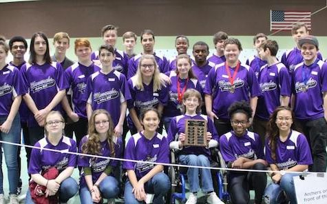Menchville Archery Team earns a shot at States with Regional Tournament win