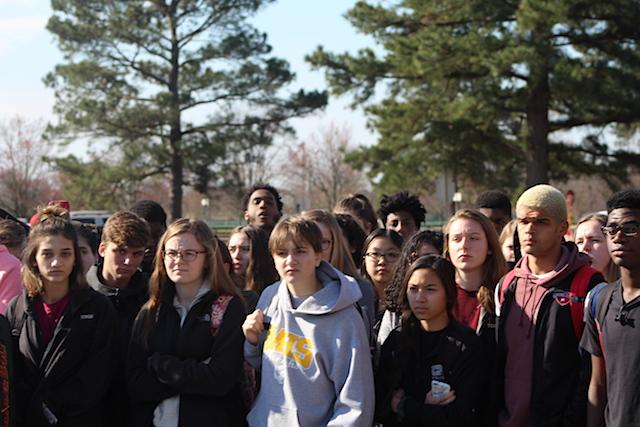 """""""Never Again"""": Menchville's Protest Against Gun Violence"""