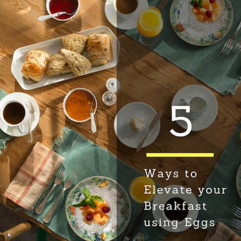 5 Ways to Elevate Your Breakfast Using Eggs