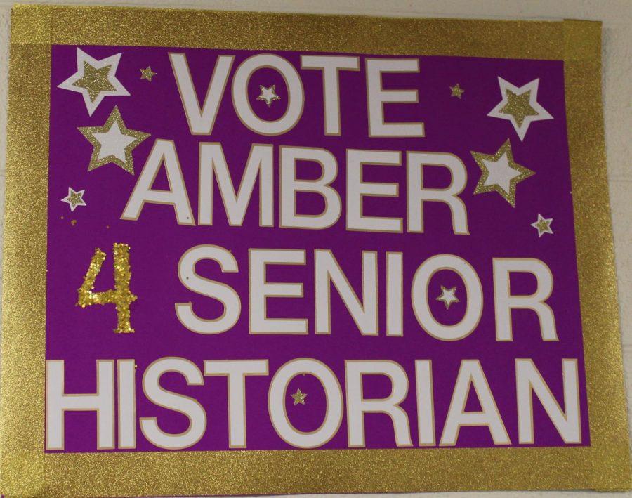Seniors Tilley Campaign Poster