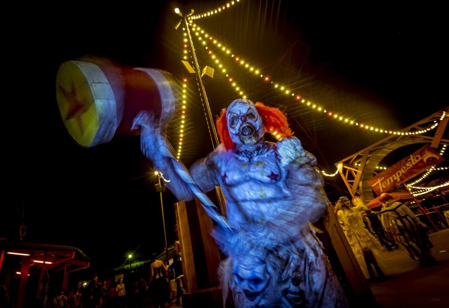 The haunted houses at Busch Gardens have become a Halloween staple on the peninsula.