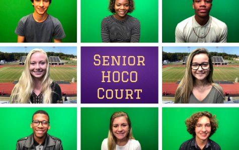 Meet Your Senior Homecoming Court
