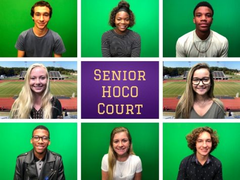 Meet Your Senior Homecoming Court