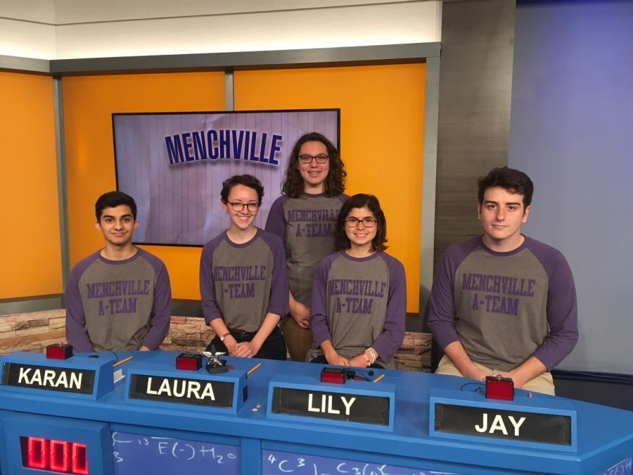 Menchville Academic Team defeats Isle of Wight Academy