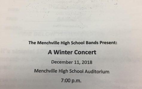 Menchville Band performs Winter Concert