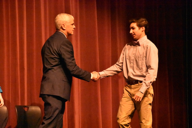 Science Honors Society Induction Ceremony 2019