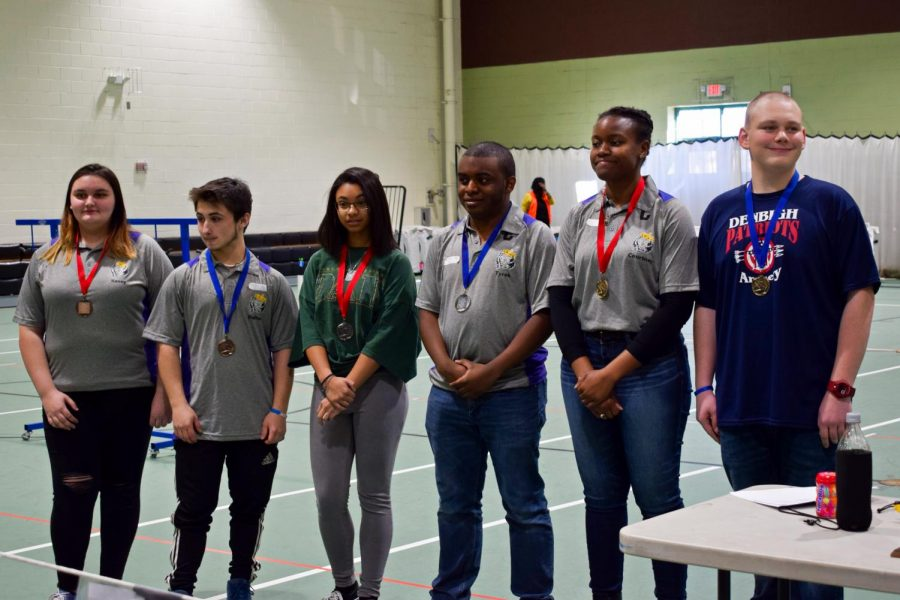 Four Menchville archers placed in their individual divisions.