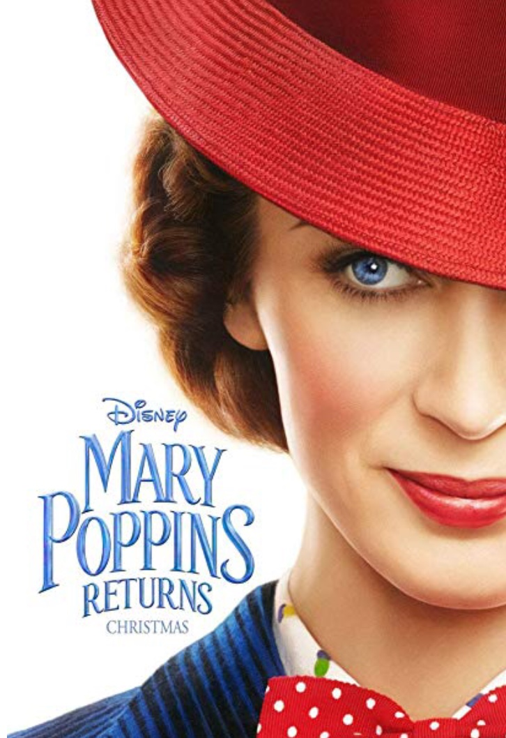 Mary Poppins Returns was released into theaters on December 19th.