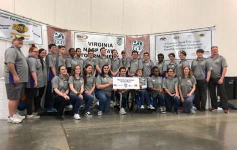 The Menchville Archery team placed 5th in their Bullseye Tournament and 6th in the IBO 3D Challenge on Saturday, March 9.