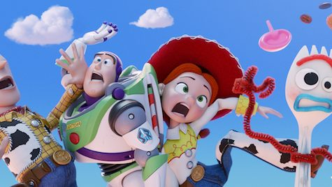 All your favorite characters, including some new additions, gather together again for the fourth installment in the Toy Story franchise.