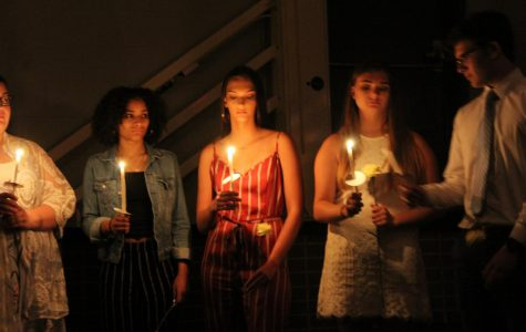 New National Honor Society members were inducted on Wednesday, April 10.
