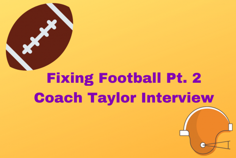Fixing Football- Part 2 (An Interview with Coach Rodney Taylor)