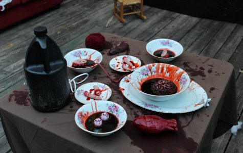 Table of blood