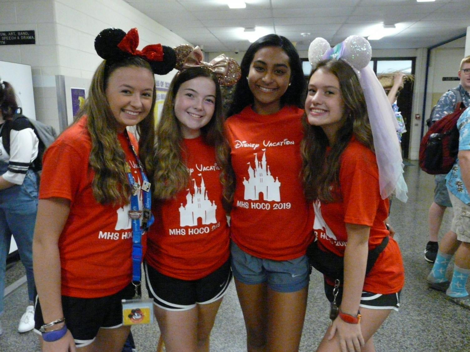 Students+pose+as+a+party+to+Disney+World.