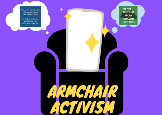 Armchair Activism: A Re-Post And A Like Can't Change The ...