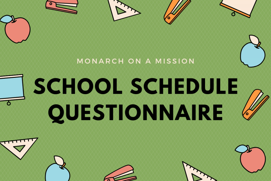 Monarch on a Mission: The School Schedule Questionnaire