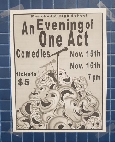 Menchville will hold their annual night of one-act plays this week.