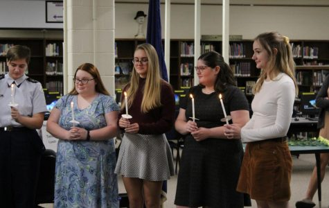 Fall National Honor Society Inductions 2019
