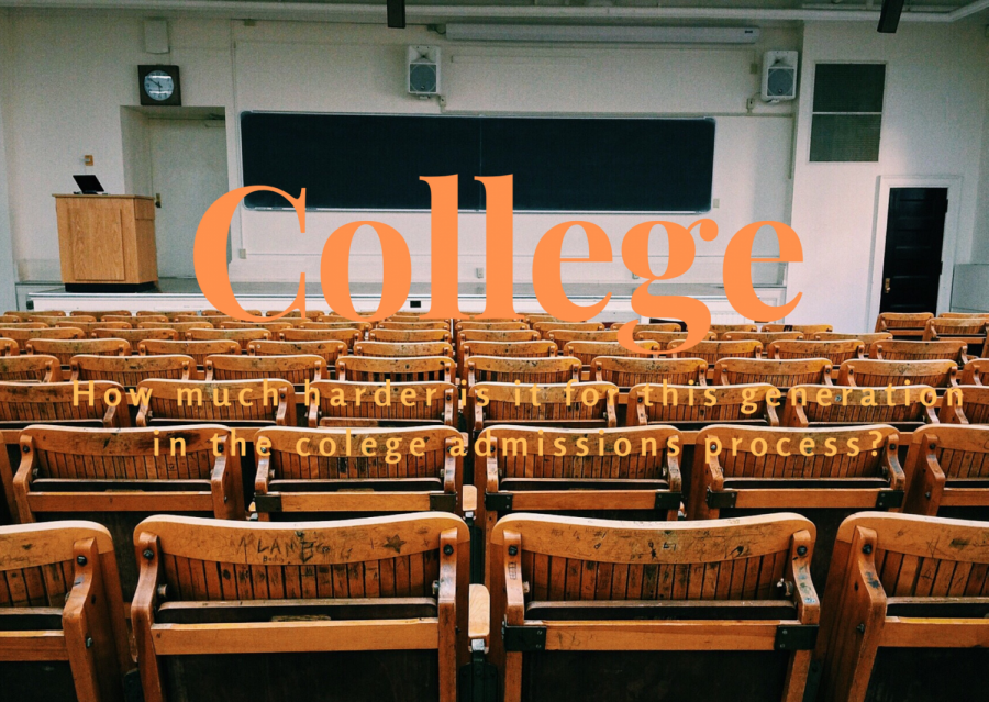 College: How much harder is it for this generation in the college admissions process?