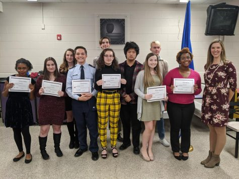 World Language Honor Societies Welcome New Inductees