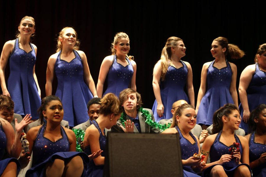 (M) Pulse choir performed at their winter concert on Thursday, December 5.