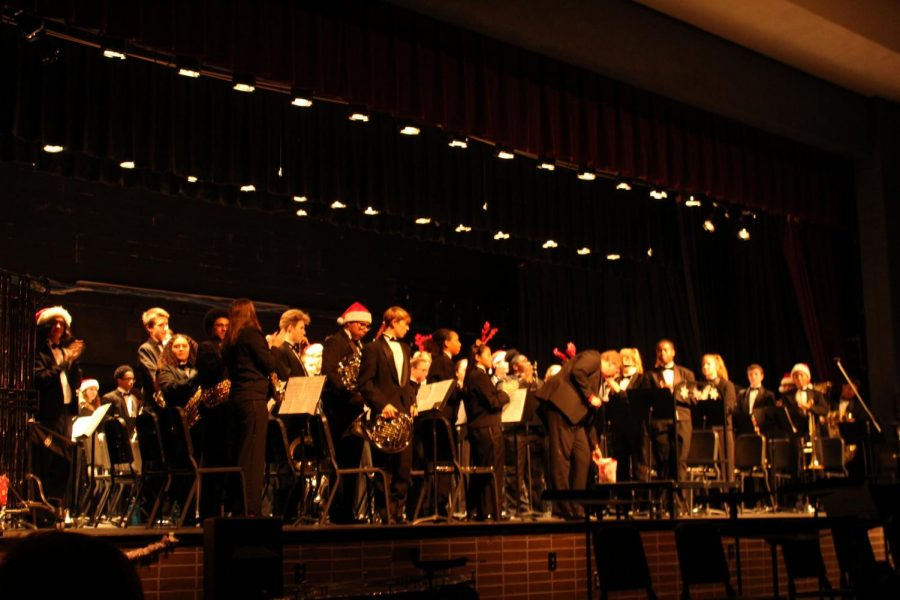A Winter Concert Brought to you by the Menchville High School Band