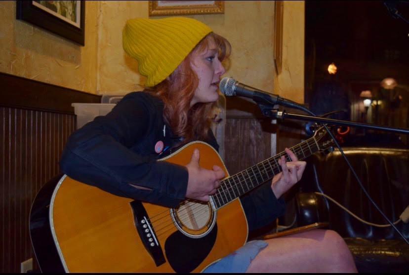 Tori Rimes will take to the Menchville Rocks stage February 27, guitar in hand.