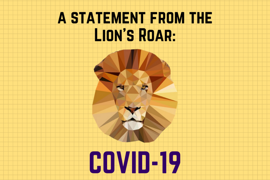 A Statement from the Lion's Roar on COVID-19