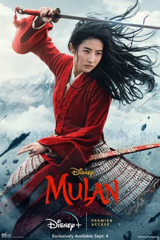 Mulan preparing for battle.