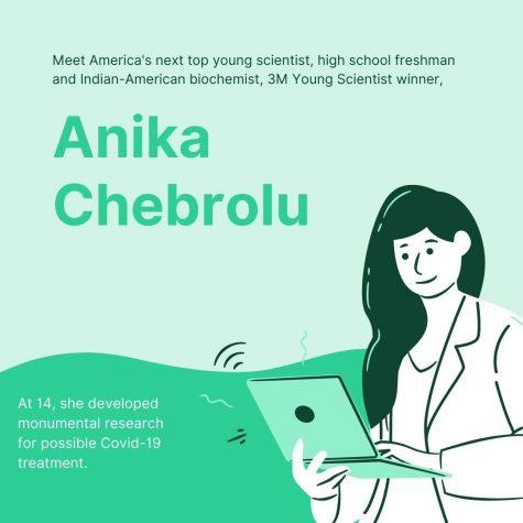Anika Chebrolu Named America