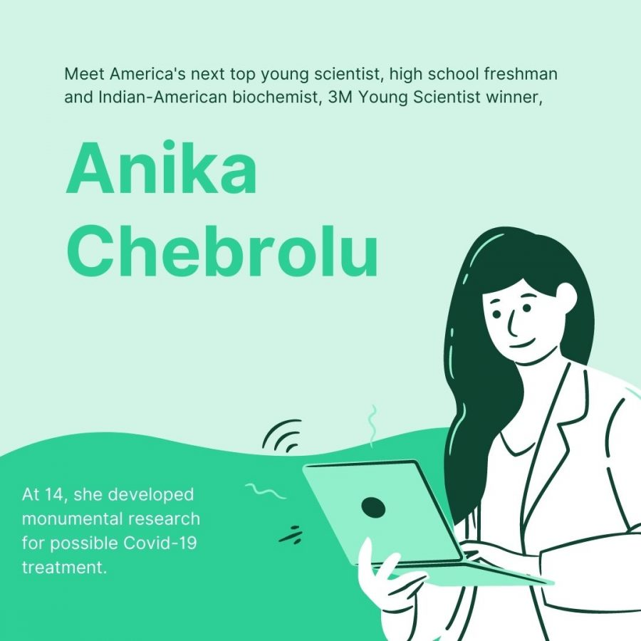 Anika Chebrolu Named America's Top Young Scientist