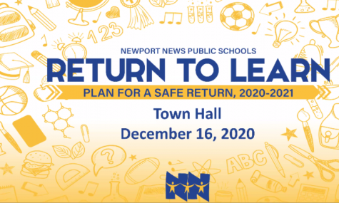 NNPS Return To Learn Plan Town Hall Meeting: Is it Safe To Go Back To School, Yet?
