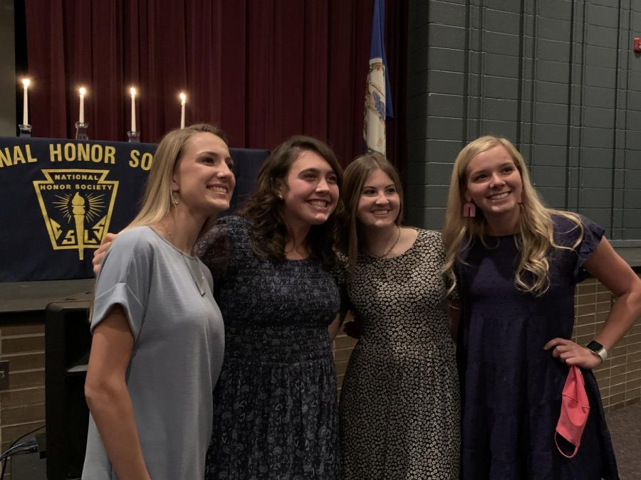 From left to right: Lindsey Egnot, Rileigh Weaver, Amanda Walls, Sydney Balus