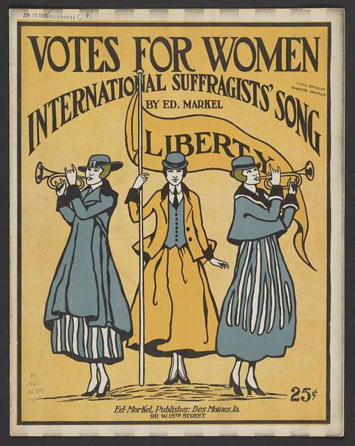 Women's History Month: Fighting for the Right to Vote