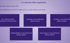 SCA and Class Officer Applications Available Now